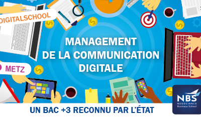 Faire ses études en Communication et Marketing Digital à Metz