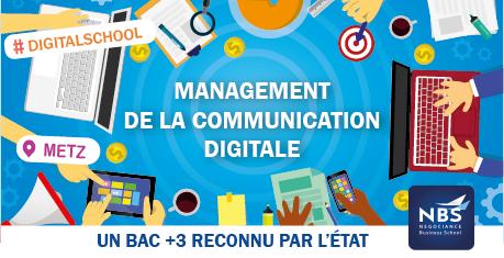 Faire ses études en Communication et Marketing Digital à Metz