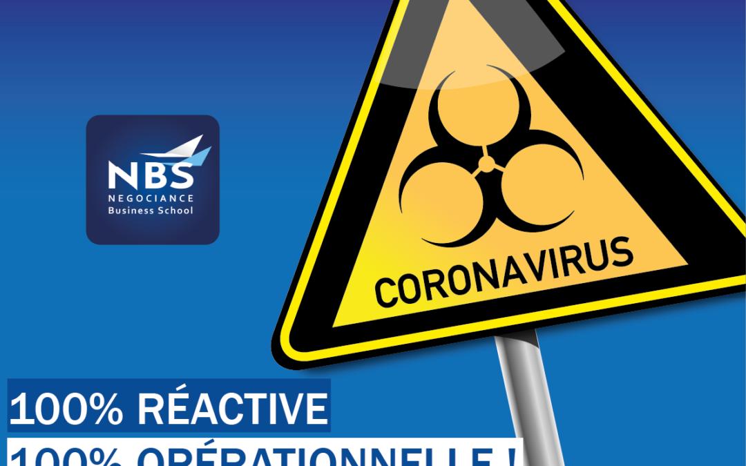 alternance coronavirus formation en distanciel