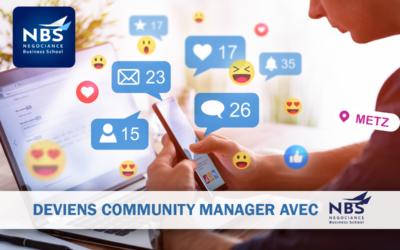 Deviens Community Manager avec NBS à Metz